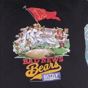 Grizzly x Bad News Bears tee shirt